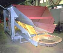 Питатель вибрационный бункерный передвижной ПВБП