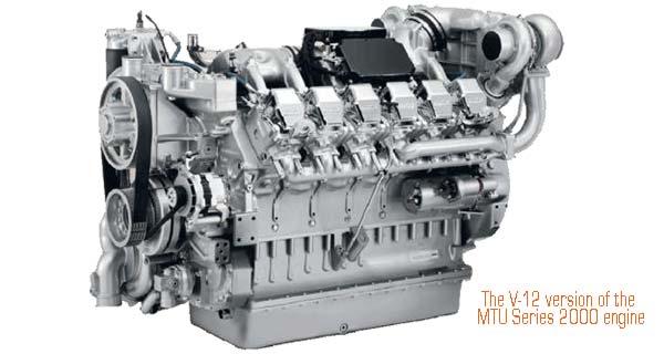 Двигателя серии 2000 компании MTU. http://on-v.com.ua