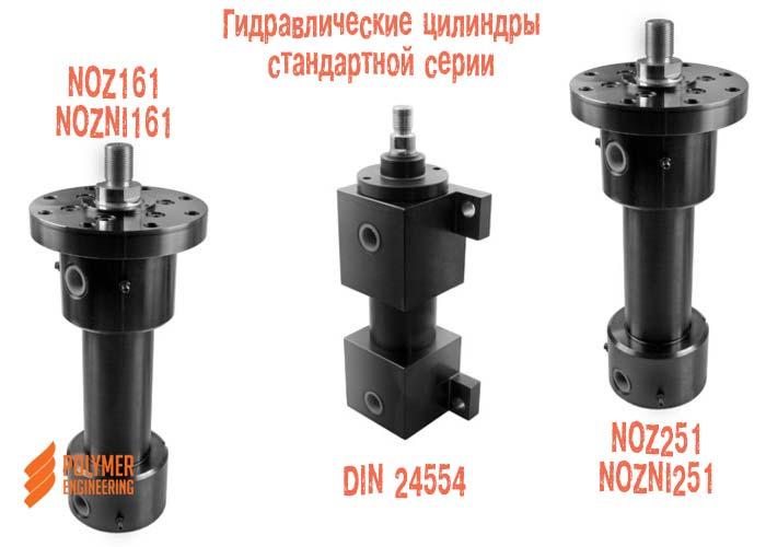 Гидравлические цилиндры стандартной серии NOZ