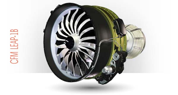 Двигатель CFM LEAP-1B