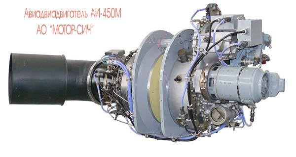 Двигатель  АИ 450 М