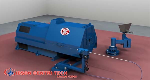 Центробежная машина Gibson Centri Tech