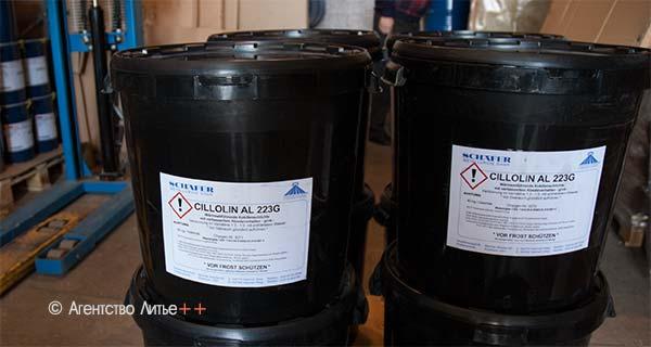 Противопригарные покрытия CILLOLIN AL 223, 223 G для кокилей