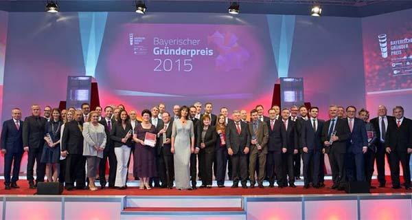 Вручение Bavarian Founder's Prize 2015