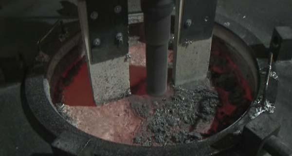 Дегазация алюминия