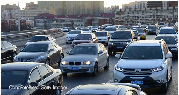 Автомобили в Китае