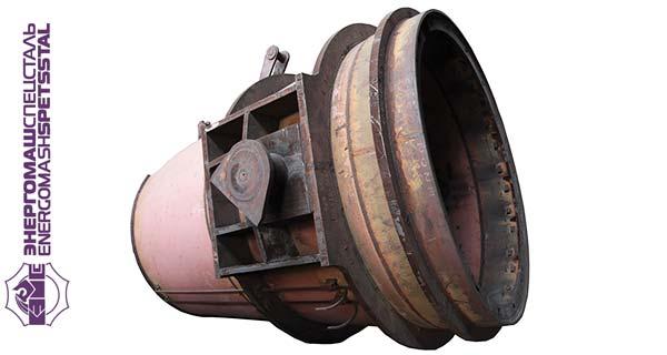Ковш емкостью 130 т собственного производства ПАО «Энергомашспецсталь»