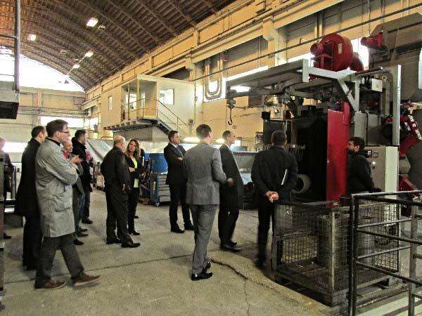 Gostol принимает глав ведущих компаний металлобработки