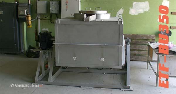 Электрическая тигельная печь сопротивления ETF-BU350