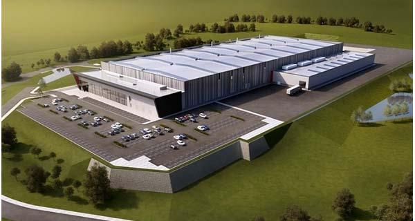 Проект завода алюминиевого литья в Telford