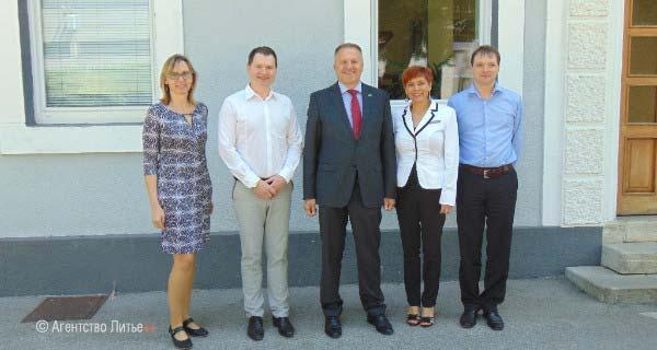Министр экономики Словении посетил Gostol TST
