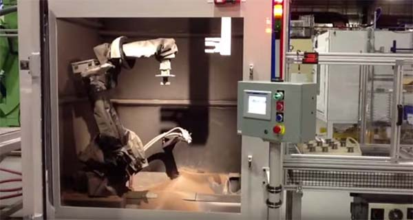 Guyson RB10TC Robotic Blast System