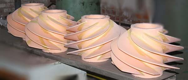 Модели отливок из вспененного пенополистирола