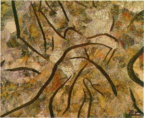 Микроструктура серого чугуна с пластинчатым графитом