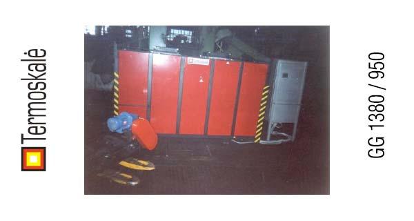 Колпаковая печь GG 1380 / 950
