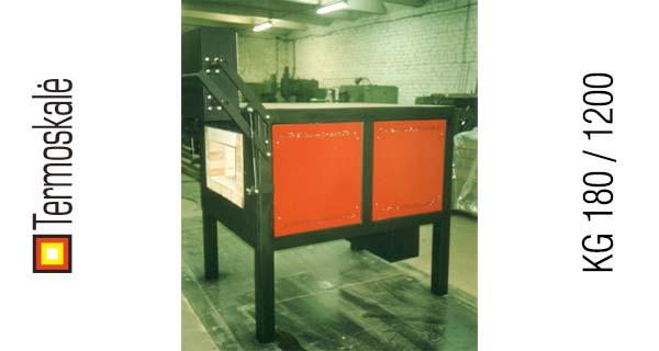 Электрическая печь для закалки KG 180 / 1200