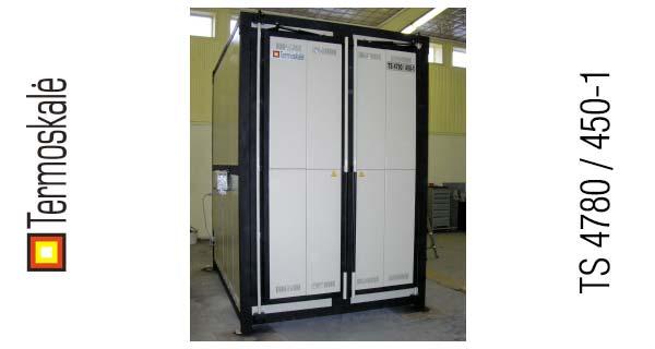 Электрическая термическая печь мод. TS 4780 / 450-1