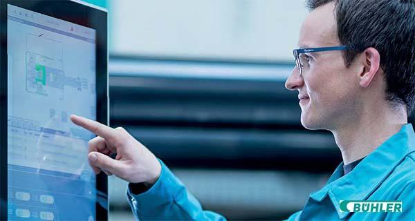 Сенсорный экран управления комплексом литья под давлением