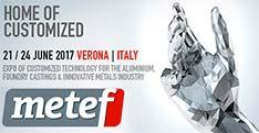 11-я Международная выставка  «Metef 2017», которая традиционно собирает производителей алюминиевой продукции, оборудования для цветной металлургии и сопутствующих отраслей