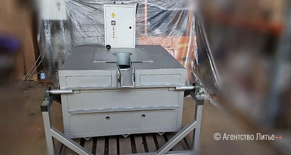 Электрическая тигельная поворотная печь сопротивления ETF-A80-ew