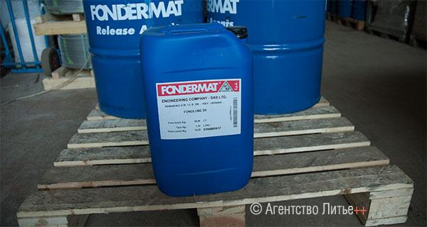 Жидкая плунжерная смазка для литья под давлением, код товара SA-0506