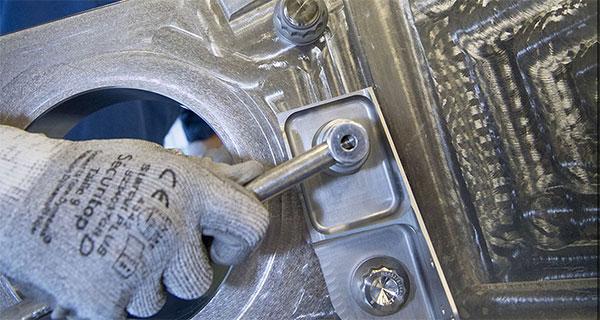 3G печатный титановый кронштейн