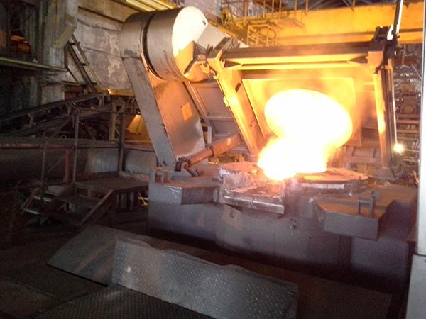 3-х тонная индукционная печь Inductotherm