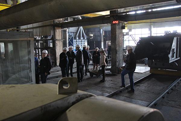 Экскурсия на завод «М-ЛИТ», г. Никополь