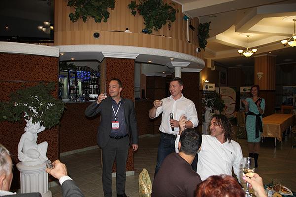 Благодарности организаторам от зарубежных участников конференции