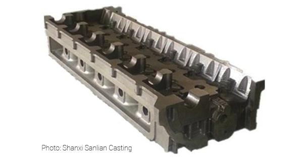 Головка цилиндров Shanxi Sanlian Casting