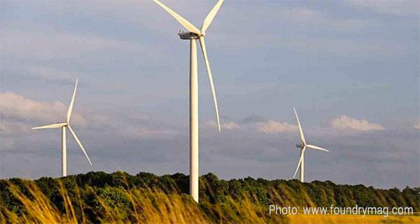 GM использует ветроэнергетику