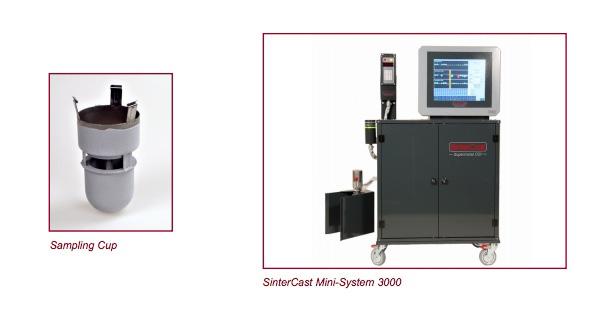 SinterCast Mini-System 3000