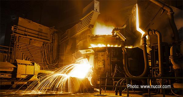 Мини-завод компании Nucor