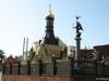 Общий вид ограждения храма в Харькове