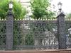 Литой забор с литыми стойками