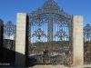 Литые ворота и две калитки