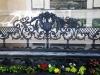 Литое чугунное ограждение балкона
