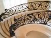 Лестница с литыми перилами