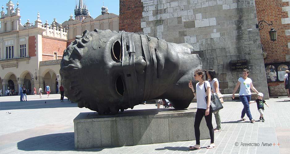 Скульптура в Кракове