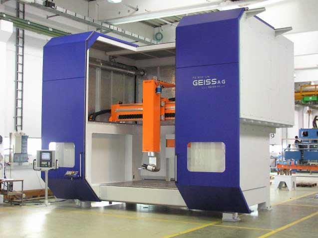 Фрезерный станок FZ Eco компании GEISS AG (Германия)