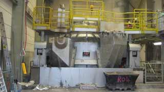 Индукционная канальная печь IRT 135