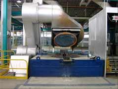 Индукционная печь компании ABP
