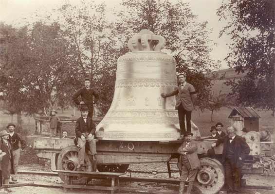 Крупнейший колокол Франции La Savoyarde (Савоярд)
