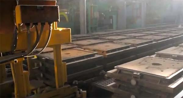 Литейный цех «Роменского завода «Тракторозапчасть»