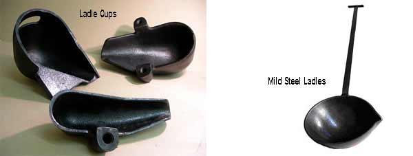 Рис. 1: Ковши для роботов-заливщиков и ручные ковши