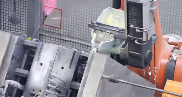 Гравитационная заливка алюминия. Проект E6POS