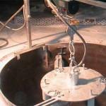 Оборудование Dörentrup для футеровки индукционных печей
