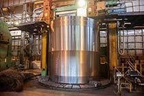 Обработка заготовки обечайки корпуса реактора ВВЭР-ТОИ
