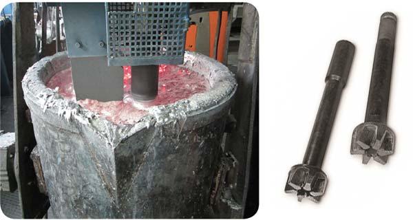 Ротор дегазатора из карбида кремния