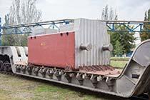 Шабот цельнокованный, изготовлен ПАО 'Энергомашспецсталь' из слитка весом 415 т в августе 2013 г.